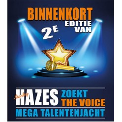 Stanley Hazes zoekt the Voice